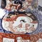 A pair of Imari jars and covers