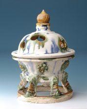 Tang dynasty sancai glazed censer